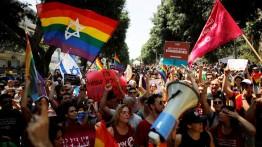 Komunitas LGBT Israel protes atas undang-undang baru yang dinilai diskriminatif terhadap kaum gay