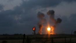 Israel lancarkan serangan udara di Beit Hanoun, Jalur Gaza
