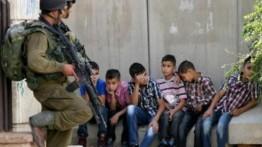 Israel menangkap 120 anak dibawah umur setiap bulan