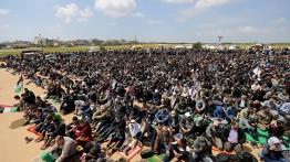 Israel minta warga Gaza hentikan demonstrasi sebagai syarat pembebasan blokade