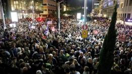 Terjerat kasus penyelewengan kekuasaan, 20.000 warga Israel lakukan aksi protes terhadap Netanyahu