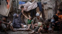 20 ribu warga Palestina masih tinggal di kamp pengungsian