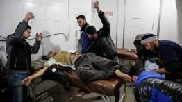 Sejak Senin lalu, 167 warga Suriah gugur dalam serangan udara di Ghouta