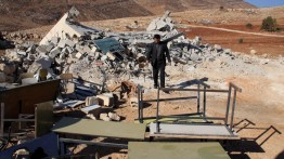 Israel hancurkan sekolah komunitas Badui di Al-Quds
