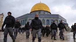 Demonstran Palestina di Al-Quds usir pasukan Israel dari Kubbah al-Sakhrah