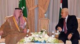 Abbas bahas situasi di Jerusalem dengan Menlu Saudi