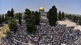 Jumat kedua Ramadhan, 220.000 Muslim Palestina padati Masjid Al-Aqsa