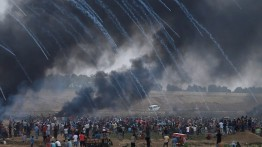Demonstrasi minggu ke enam di perbatasan Gaza, lebih dari 1000 warga Palestina cedera