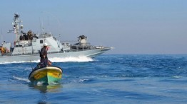 Israel persempit area penangkapan ikan di laut Gaza