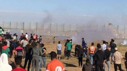 Puluhan warga Gaza kembali berjatuhan dalam unjuk rasa perbatasan Jumat