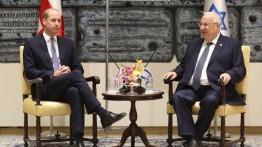 """Presiden Israel meminta William menyampaikan """"pesan perdamaian"""" untuk pemimpin Palestina"""