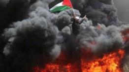 Pesawat tempur Israel serang remaja Palestina di Gaza utara