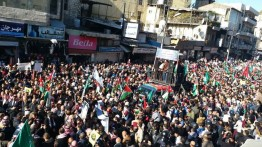 Dukung Palestina, Warga sejumlah negara Arab gelar aksi pembakaran bendera Israel