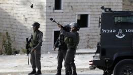 117 warga Palestina luka-luka dalam aksi protes 100 hari setelah deklarasi Donald Trump