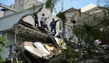 Gempa dahsyat kembali guncang Meksiko