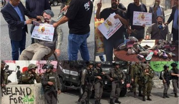 Demonstrasi peringati 100 tahun Deklarasi Balfour, pasukan Israel-demonstran bentrok