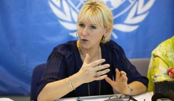 Menteri Luar Negeri Swedia: Kami ingin melarang orang-orang Israel memasuki negara kami