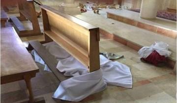 Gereja Katolik di Yerusalem diserang orang tak dikenal