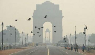 """Delhi berada pada """"rekor tertinggi"""" pencemaran udara"""