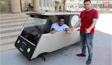 Inovasi mobil tenaga surya mahasiswa asal Gaza