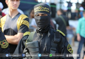 Pasukan Khusus Mental Siap Syahid Pejuang Palestina Brigade Saraya