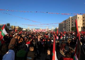 Peringatan hari jadi PFLP(Front pembebasan Palestina) ke49