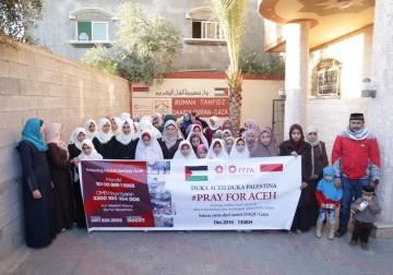 Duka Aceh duka Palestina, ratusan anak2 Gaza santri DAQU Gaza Pale
