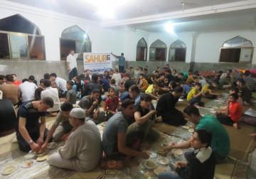 Program Sahur di 27 Unit Masjid, Sederhananya Hidangan Sahur Musl