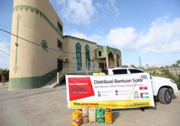 Foto hari ke II distribusi Solar-Bensin sudah 27 Unit Masjdi di Ga