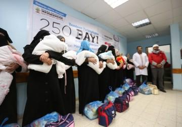 250 Bayi di Gaza terima bantuan hadiah dari masyarakat Indonesia(1