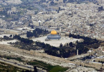Total Whole Location of Al Aqsa Mosque