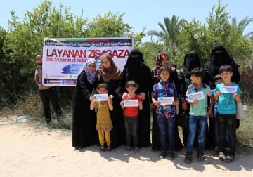 Anak-Anak Yatim Gaza Dan Janda Terima Zakat Fitrah (ZIS4GAZA) Dari