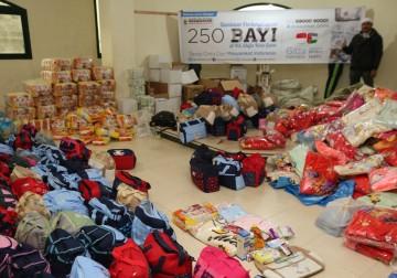 250 Bayi di Gaza Palestina akan menerima bantuan ini, hadiah dari