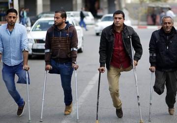 Mereka Kehilangan Sebagian Anggota Tubuh Akibat Perang Gaza