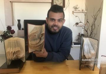 Ahmad Humaid, remaja Palestina dan seniman origami, seni lipat khas Jepang
