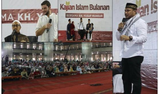 Bang Onim berbagi cerita tentang Palestina di Masjid  Istiqlal Jakarta